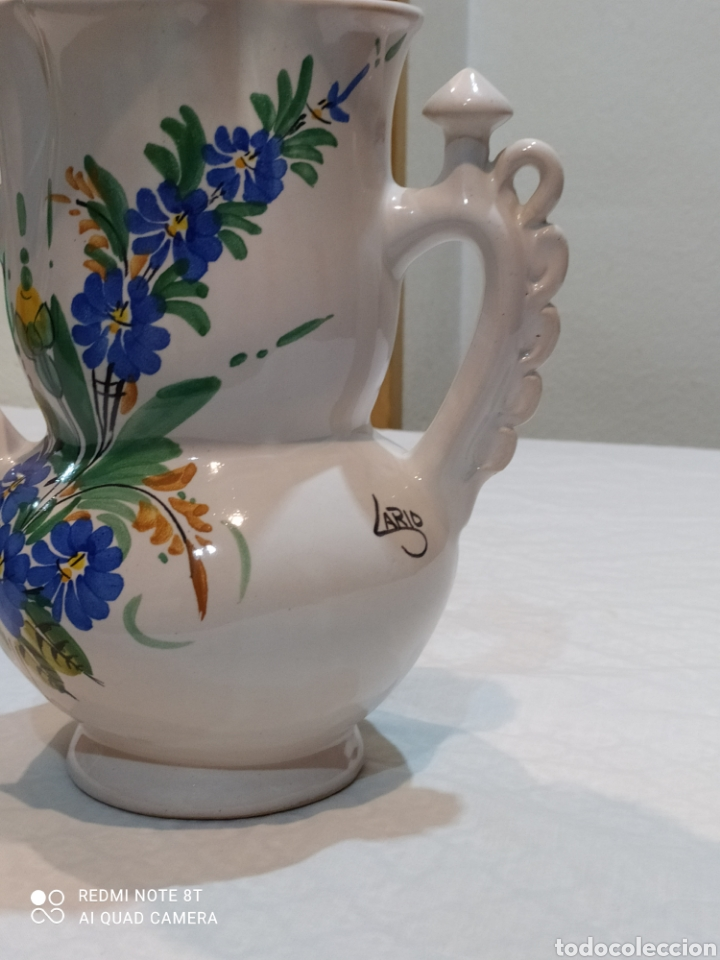 Antigüedades: Precioso jarrón antiguo de la novia de larios - Foto 3 - 233030245