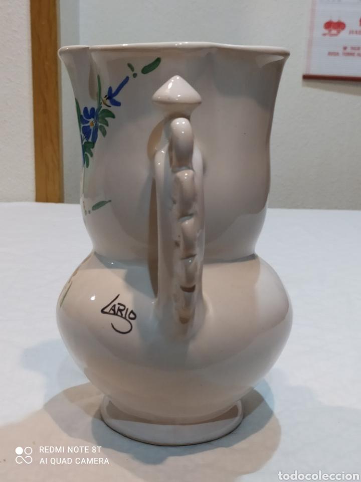 Antigüedades: Precioso jarrón antiguo de la novia de larios - Foto 4 - 233030245