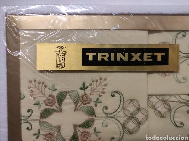 Antigüedades: Juegos de sábanas marca trinxet nuevas a estrenar color amarillo medidas 210 de matrimonio - Foto 4 - 233067515