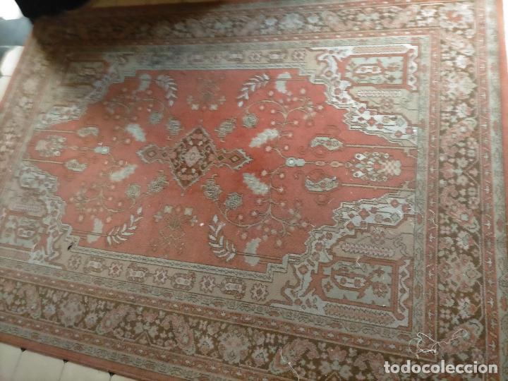 Antigüedades: gran alfombra, iglesia besamanos virgen cofradia , 230 x 167 - Foto 2 - 233075925