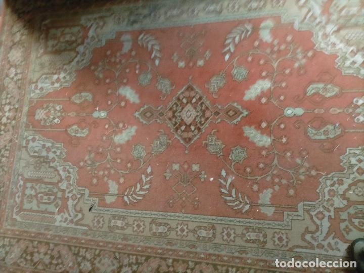 Antigüedades: gran alfombra, iglesia besamanos virgen cofradia , 230 x 167 - Foto 5 - 233075925
