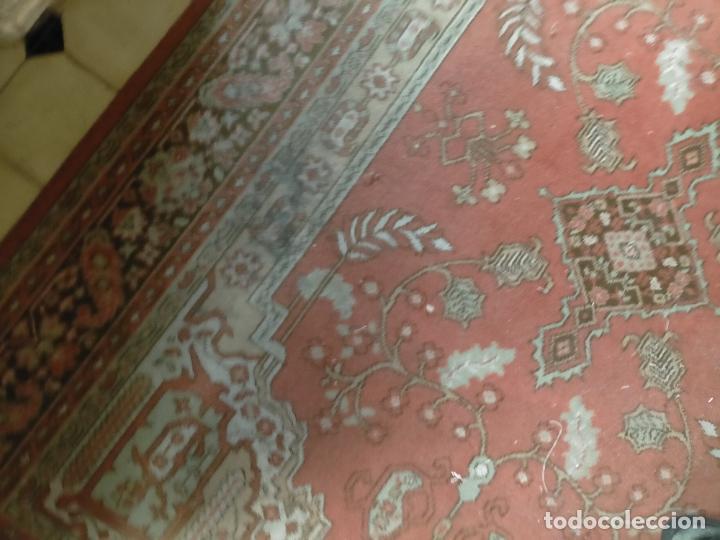 Antigüedades: gran alfombra, iglesia besamanos virgen cofradia , 230 x 167 - Foto 15 - 233075925