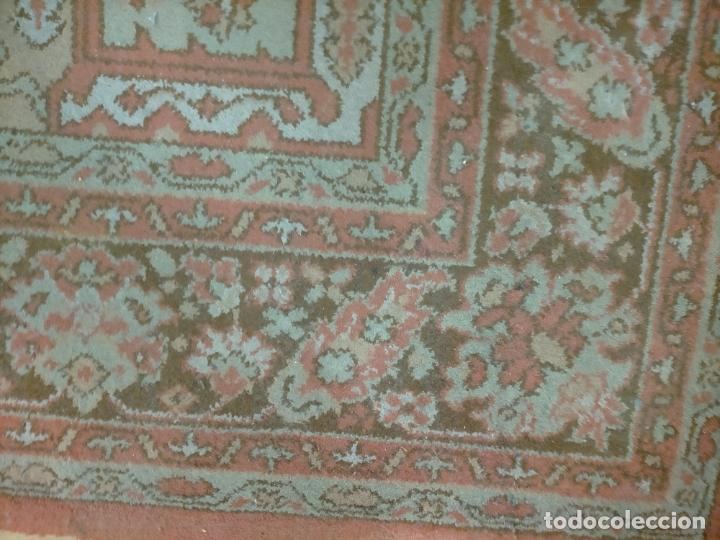 Antigüedades: gran alfombra, iglesia besamanos virgen cofradia , 230 x 167 - Foto 20 - 233075925