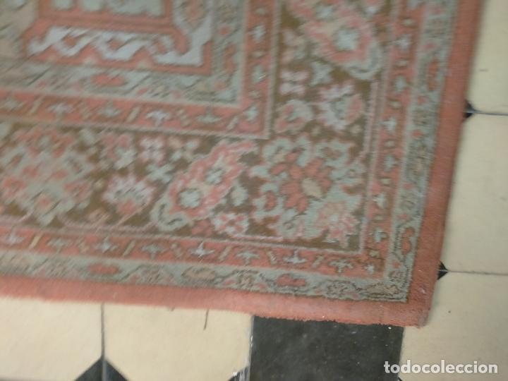 Antigüedades: gran alfombra, iglesia besamanos virgen cofradia , 230 x 167 - Foto 22 - 233075925