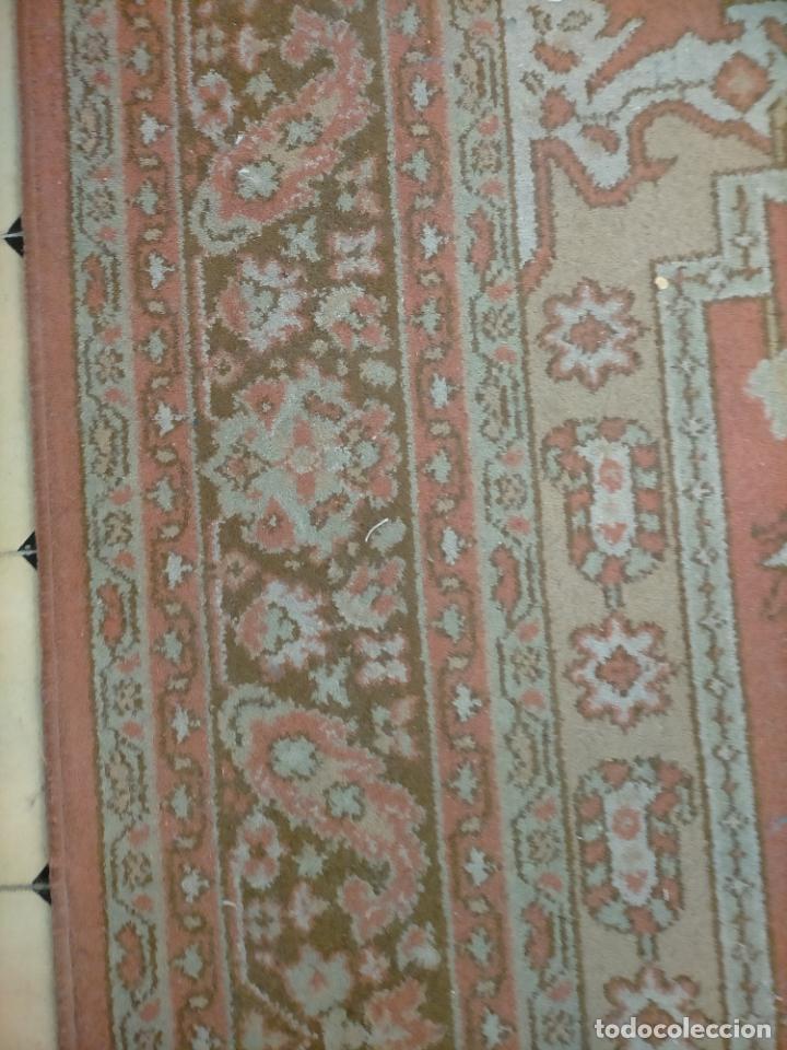Antigüedades: gran alfombra, iglesia besamanos virgen cofradia , 230 x 167 - Foto 23 - 233075925