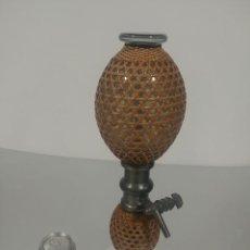 Antigüedades: SIFÓN DOBLE BARRIGA ANTIGUO [ANTIQUE FRENCH SIPHON]. Lote 233082545