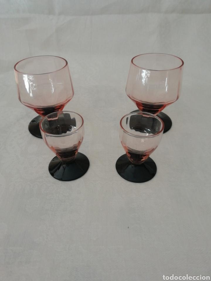 COPAS CRISTAL DE MURANO (Antigüedades - Cristal y Vidrio - Murano)