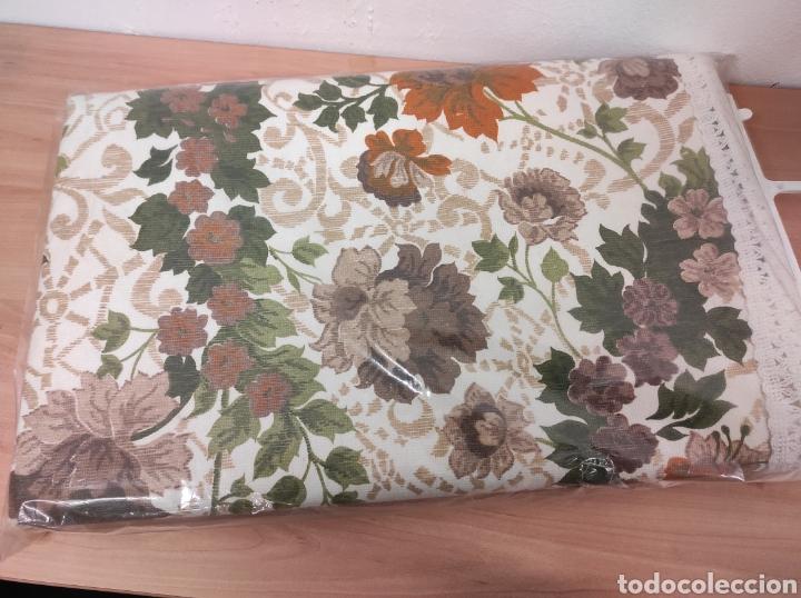 Antigüedades: Colcha de verano medidas 210 x 250 modelo decoratex para cama de 135 nuevo sin uso vintage - Foto 2 - 233089190