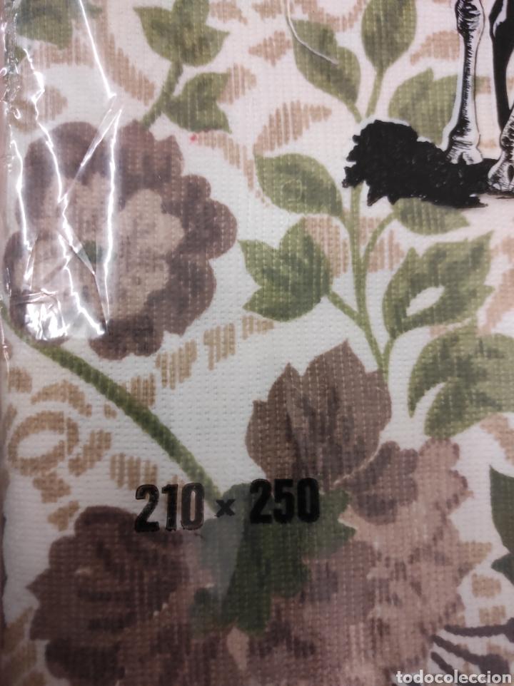 Antigüedades: Colcha de verano medidas 210 x 250 modelo decoratex para cama de 135 nuevo sin uso vintage - Foto 3 - 233089190