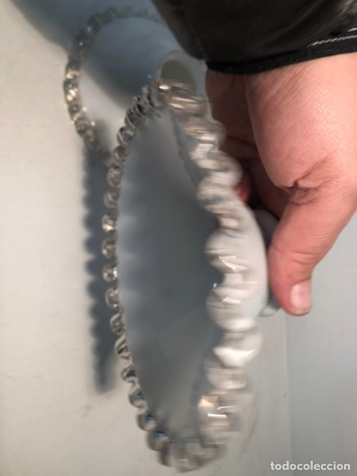 Antigüedades: DOS TULIPA PLATO 17cm DIAMETRO ANTIGUAS. - Foto 2 - 233110985