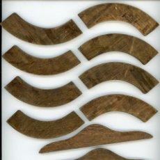 Antigüedades: ORNAMENTACIÓN, REMATES O ADORNOS PARA MUEBLES DE ROBLE MACIZO. Lote 233112665