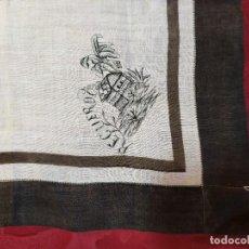Antigüedades: PAÑUELO DE ALGODÓN CON BORDADO. Lote 233117635