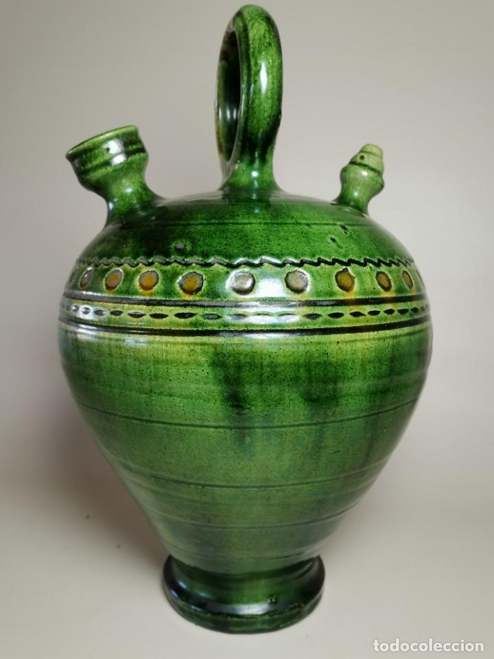Antigüedades: ANTIGUO BOTIJO DE COLECCION-CANTIR --TITO--UBEDA--JAEN - Foto 2 - 233153120