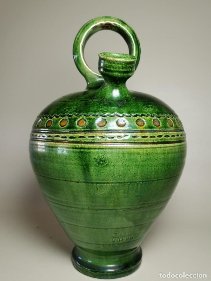 Antigüedades: ANTIGUO BOTIJO DE COLECCION-CANTIR --TITO--UBEDA--JAEN - Foto 4 - 233153120
