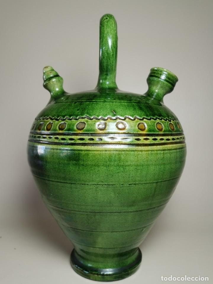 Antigüedades: ANTIGUO BOTIJO DE COLECCION-CANTIR --TITO--UBEDA--JAEN - Foto 6 - 233153120