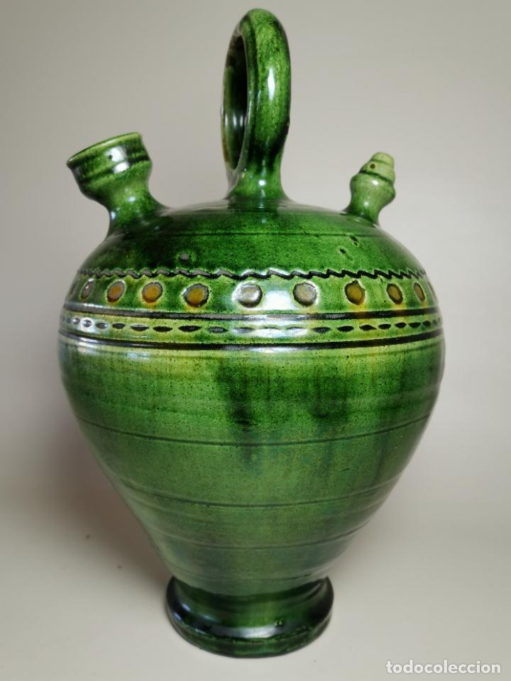 ANTIGUO BOTIJO DE COLECCION-CANTIR --TITO--UBEDA--JAEN (Antigüedades - Porcelanas y Cerámicas - Úbeda)