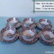 Antigüedades: PRECIOSO JUEGO DE TÉ, DE PORCELANA GAREIS WALDSASSEN BAVARIA.. Lote 233165130