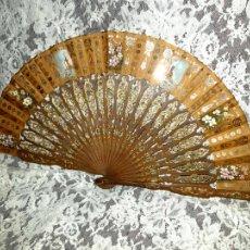 Antiguidades: BELLO ABANICO DE ESTILO ITALIANO 1860S. Lote 233183165