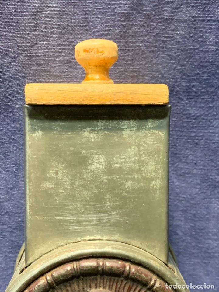 Antigüedades: PICADORA PRINCIPIO DEL S XX MTAL MADERA GERMANY HARRAS - Foto 2 - 233233675