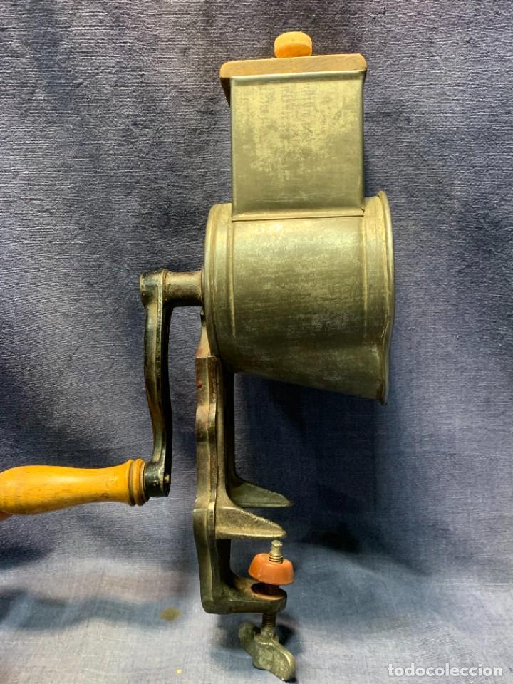 Antigüedades: PICADORA PRINCIPIO DEL S XX MTAL MADERA GERMANY HARRAS - Foto 6 - 233233675