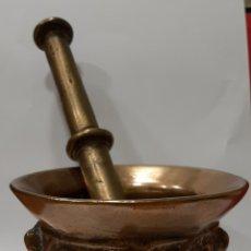 Antigüedades: ALMIREZ DE BRONCE S. XVII. Lote 233272350
