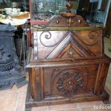 Antigüedades: BAUL CASTELLANO SIGLO XIX. Lote 233283385