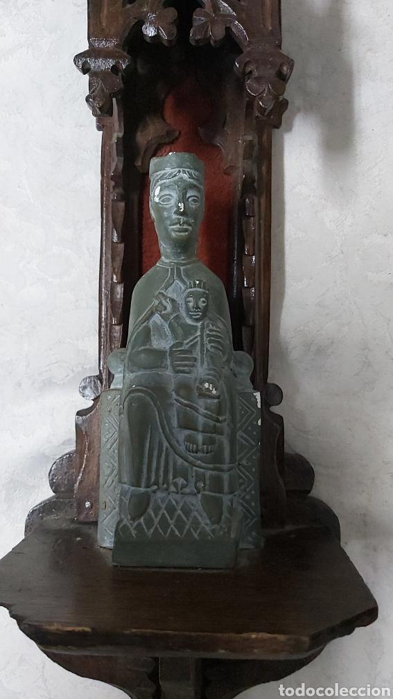 Antigüedades: ANTIGUA CAPILLA CON LA VIRGEN DE MONTSERRAT. MORENETA - Foto 3 - 233299330