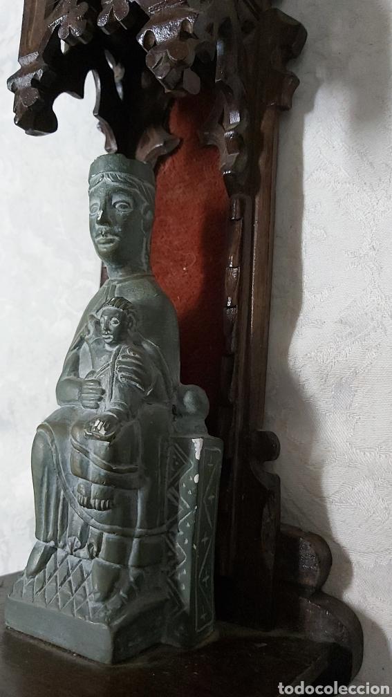Antigüedades: ANTIGUA CAPILLA CON LA VIRGEN DE MONTSERRAT. MORENETA - Foto 6 - 233299330