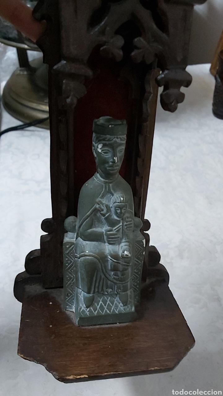 Antigüedades: ANTIGUA CAPILLA CON LA VIRGEN DE MONTSERRAT. MORENETA - Foto 8 - 233299330
