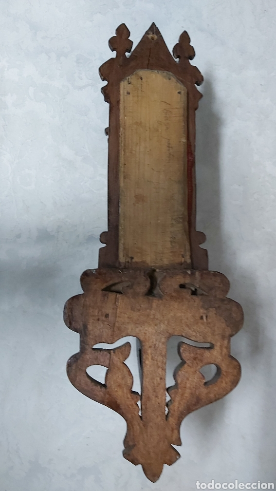 Antigüedades: ANTIGUA CAPILLA CON LA VIRGEN DE MONTSERRAT. MORENETA - Foto 9 - 233299330