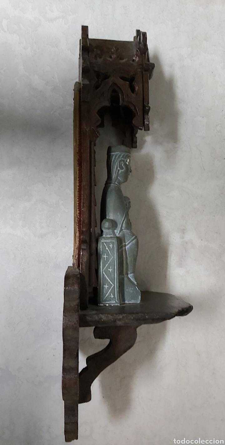 Antigüedades: ANTIGUA CAPILLA CON LA VIRGEN DE MONTSERRAT. MORENETA - Foto 10 - 233299330