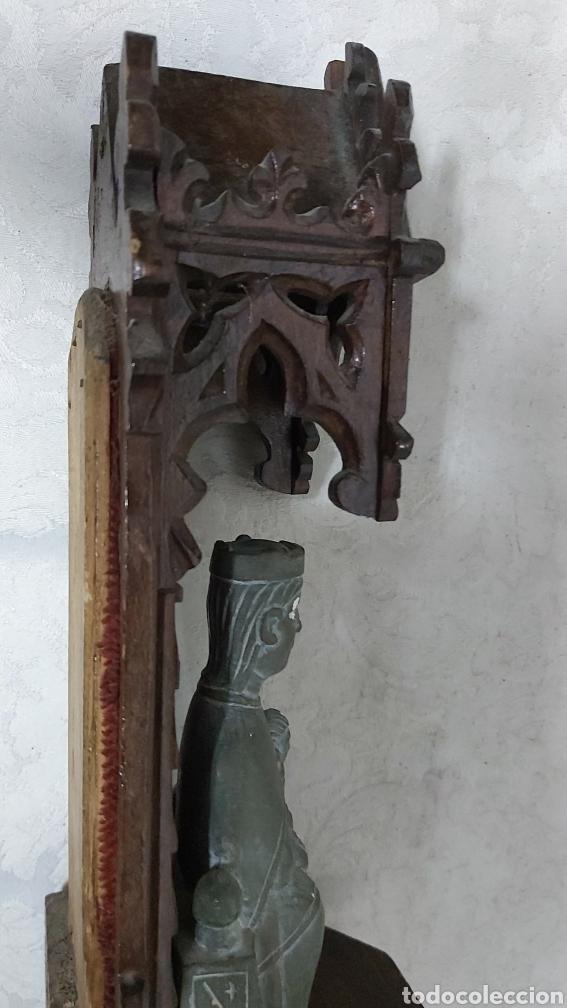 Antigüedades: ANTIGUA CAPILLA CON LA VIRGEN DE MONTSERRAT. MORENETA - Foto 11 - 233299330