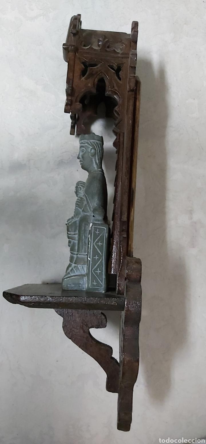 Antigüedades: ANTIGUA CAPILLA CON LA VIRGEN DE MONTSERRAT. MORENETA - Foto 12 - 233299330