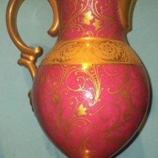 Antigüedades: LIMOGES FRANCE G.DUMAS FILS JARRON DORADO. Lote 233319305