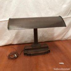 Antigüedades: ANTIGUO LAMPARA DE DESPACHO AÑOS 40 GRAN TAMAÑO. Lote 233322030