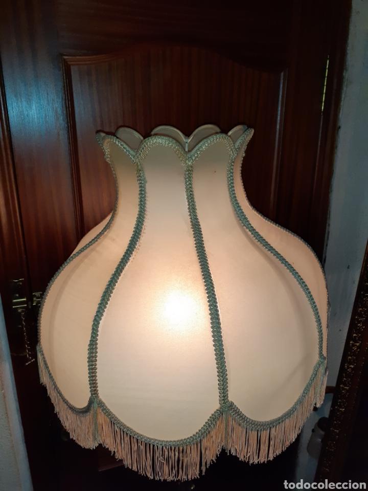 Antigüedades: Expectacular lampara de Pie de Bronce , 1,75 m de alta. - Foto 7 - 233364645