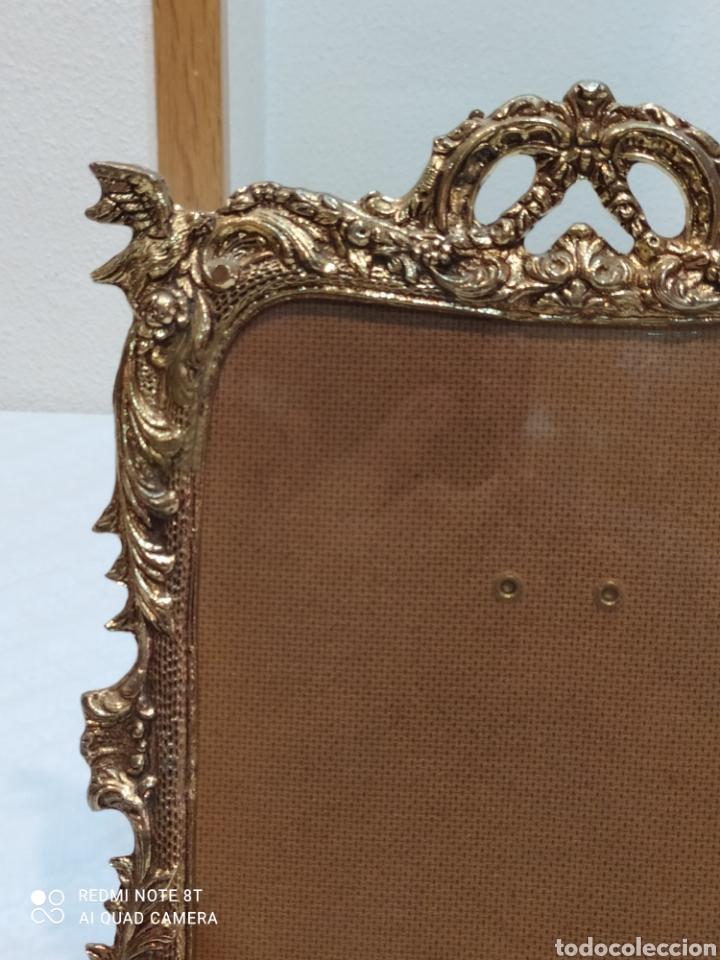 Antigüedades: Precioso marco antiguo de bronce - Foto 2 - 233381170
