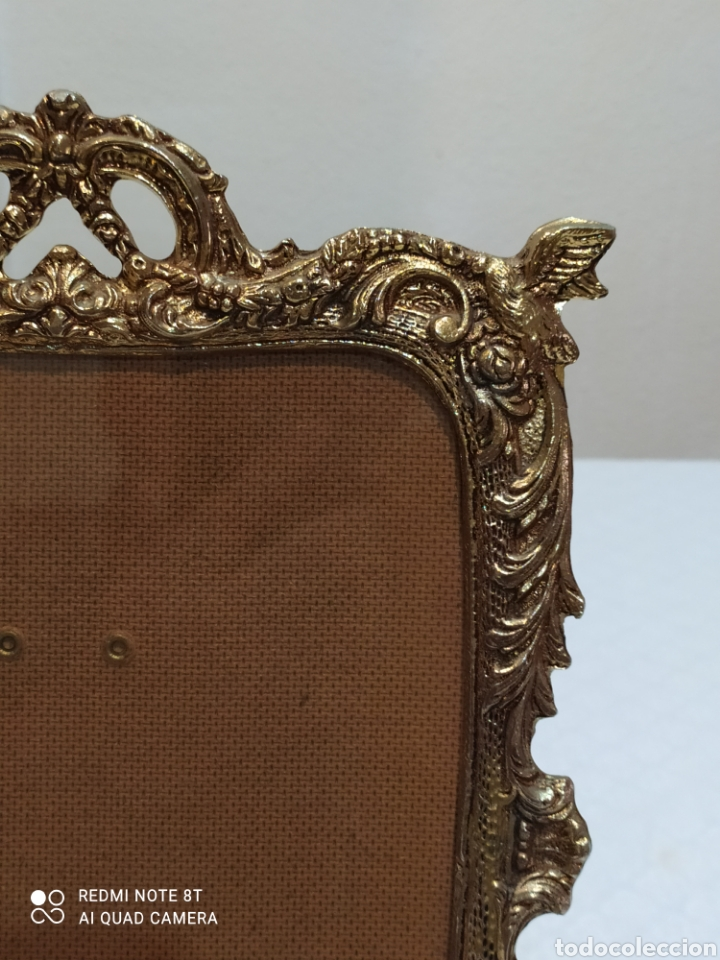 Antigüedades: Precioso marco antiguo de bronce - Foto 4 - 233381170
