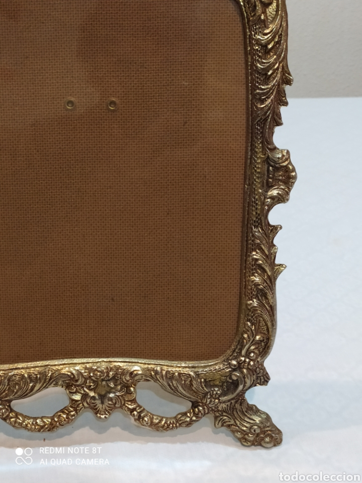Antigüedades: Precioso marco antiguo de bronce - Foto 5 - 233381170