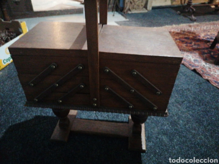 Antigüedades: Costurero de roble - Foto 2 - 233474370