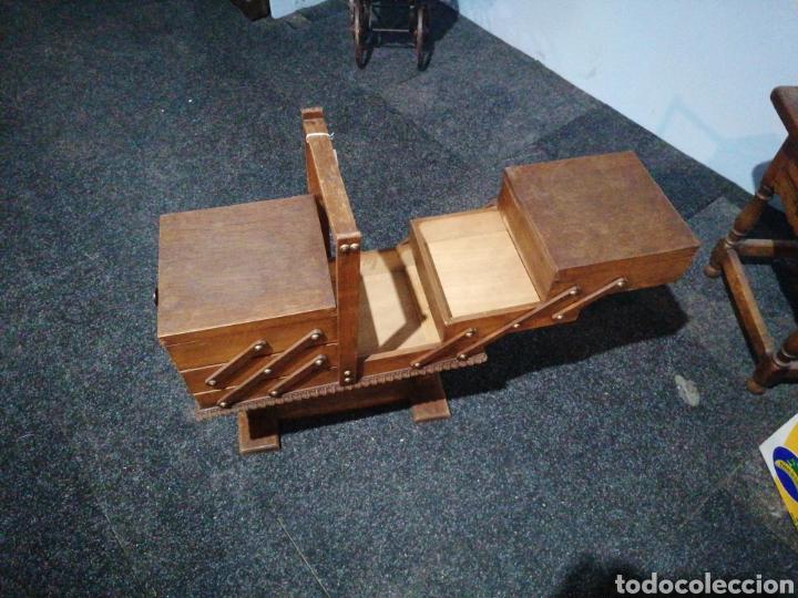 Antigüedades: Costurero de roble - Foto 5 - 233474370