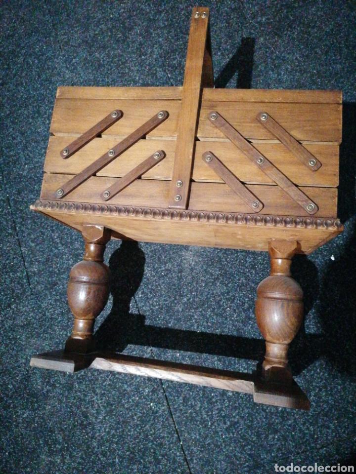 Antigüedades: Costurero de roble - Foto 6 - 233474370