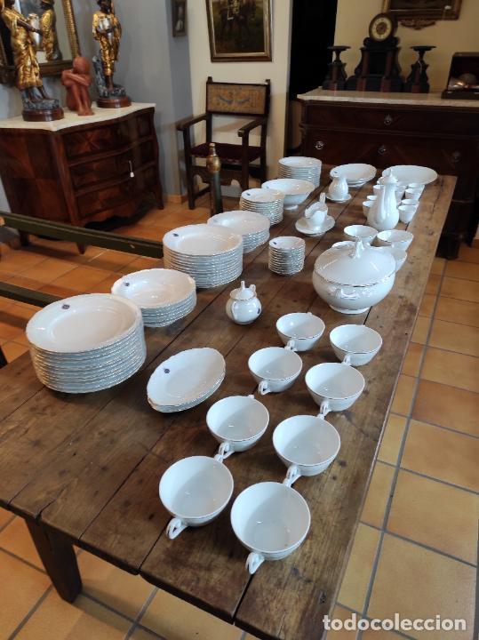 Antigüedades: Vajilla Porcelana George V - Royal Kent Collection - Completa - Nueva sin Estrenar - con Cajas - Foto 2 - 251324285