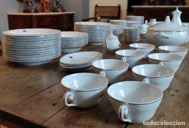 Antigüedades: Vajilla Porcelana George V - Royal Kent Collection - Completa - Nueva sin Estrenar - con Cajas - Foto 3 - 251324285