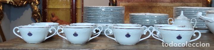 Antigüedades: Vajilla Porcelana George V - Royal Kent Collection - Completa - Nueva sin Estrenar - con Cajas - Foto 5 - 251324285