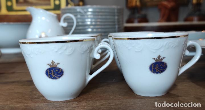 Antigüedades: Vajilla Porcelana George V - Royal Kent Collection - Completa - Nueva sin Estrenar - con Cajas - Foto 6 - 251324285