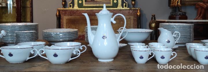 Antigüedades: Vajilla Porcelana George V - Royal Kent Collection - Completa - Nueva sin Estrenar - con Cajas - Foto 7 - 251324285