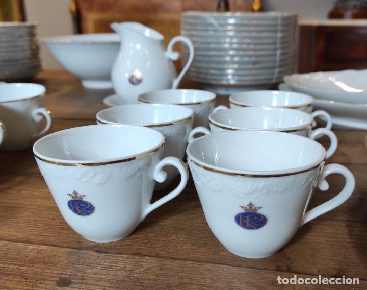 Antigüedades: Vajilla Porcelana George V - Royal Kent Collection - Completa - Nueva sin Estrenar - con Cajas - Foto 8 - 251324285