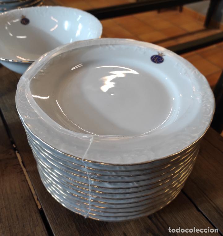Antigüedades: Vajilla Porcelana George V - Royal Kent Collection - Completa - Nueva sin Estrenar - con Cajas - Foto 9 - 251324285