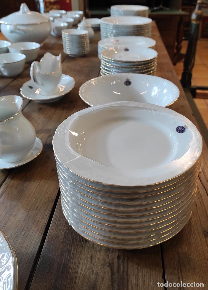 Antigüedades: Vajilla Porcelana George V - Royal Kent Collection - Completa - Nueva sin Estrenar - con Cajas - Foto 12 - 251324285